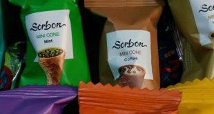 قیمت شکلات قیفی صادراتی سوربن