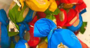 قیمت انواع شکلات تافی میوه ای صادراتی